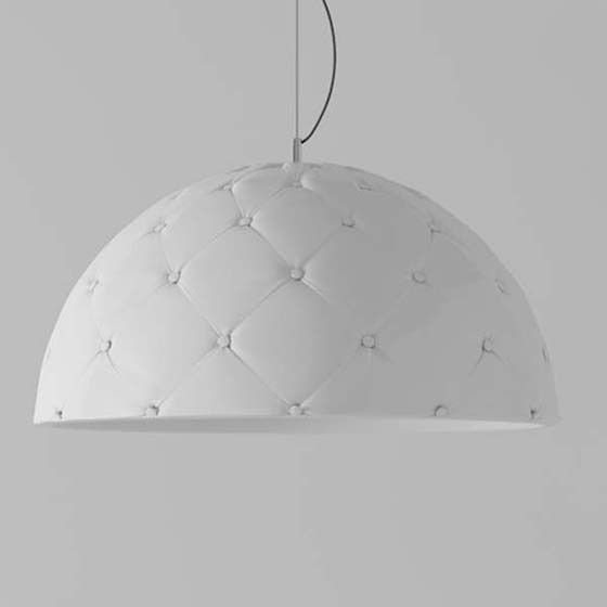 white hanging lamp
