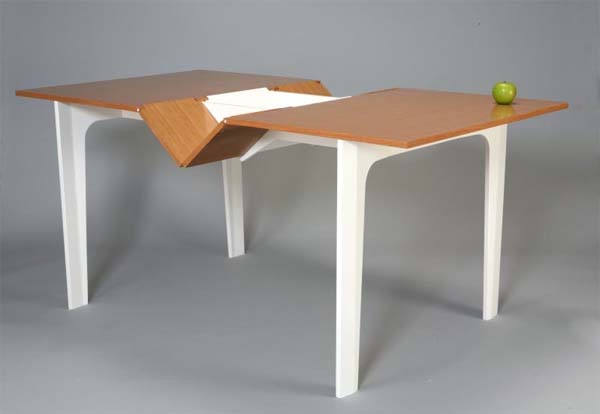 Modern extendable dining table plans from iohanna pani - Dining table design images ...