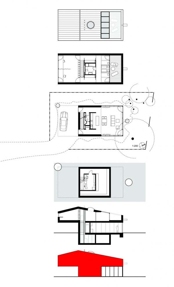 Architecture Design Of Small House small house with low maintenance costs in munich-unterfoehring