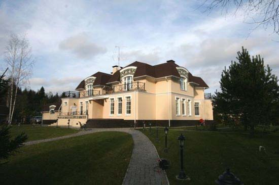 Russia house designs