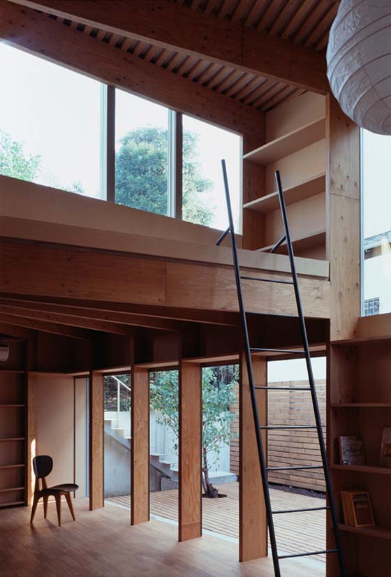 wooden house in tokyo