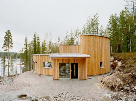Villa Nyberg design ideas by Kjellgren Kaminsky 1 Environmentally friendly Villa Design in Borlänge, Sweden by Kjellgren Kaminsky