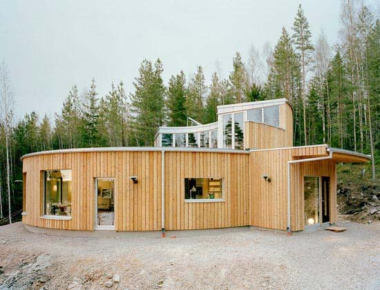 Villa Nyberg design ideas by Kjellgren Kaminsky 2 Environmentally friendly Villa Design in Borlänge, Sweden by Kjellgren Kaminsky