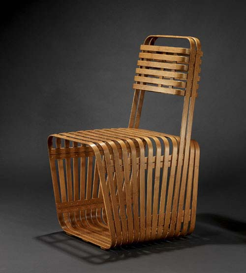 Bamboo Chairs Design From Jun Zi