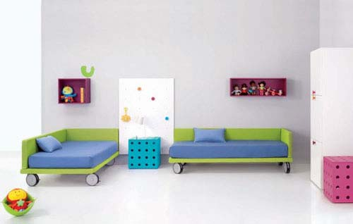 Bedroom Furniture from Spanish company BM 1 Decorating Kids Room with Bedroom Furniture from BM