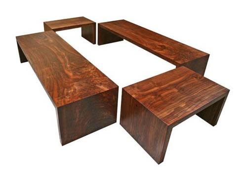 Custom Dining Benches