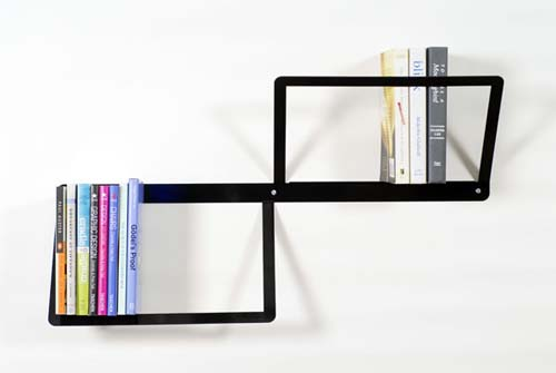 minimalist wall Bookshelf