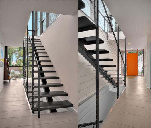 modern stairs home design
