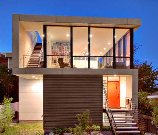 Modern House on Small site by Pb Elemental Architecture 9 Build Modern House with Lowest Cost   Idea from Pb Elemental Architecture