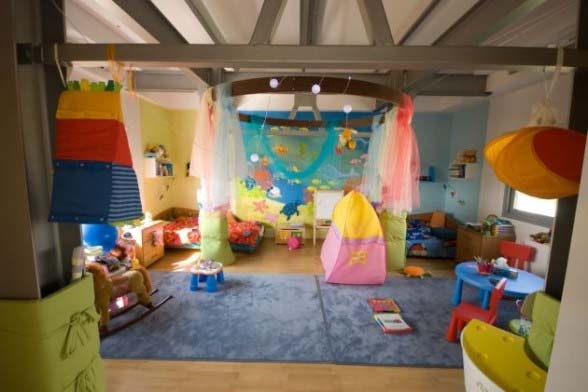 child play room area