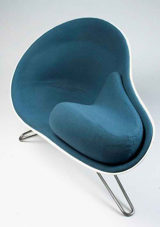comfy chair by Hanne Kortegaard