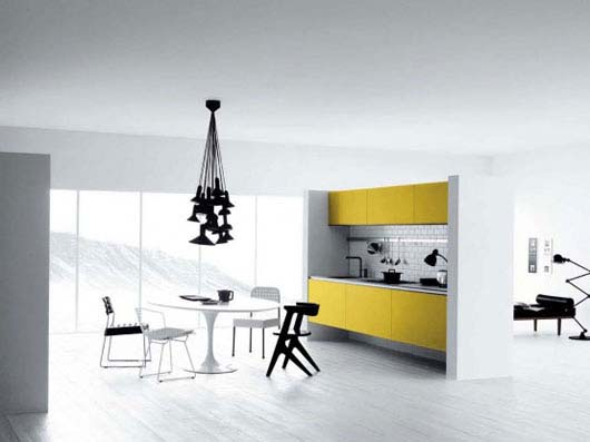 Yellow Kitchen Remodeling Ideas from Mesons 1 Yellow Kitchen Remodeling Ideas from Mesons