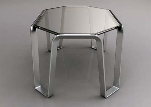 Edgewire Glass Table by Alex Sacchetti 1 Edgewire Glass Table by Alex Sacchetti