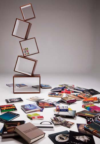 Equilibrium Bookcase by Malagana Design 3 Easily assembled Bookcase by Malagana Design   Equilibrium Bookcase