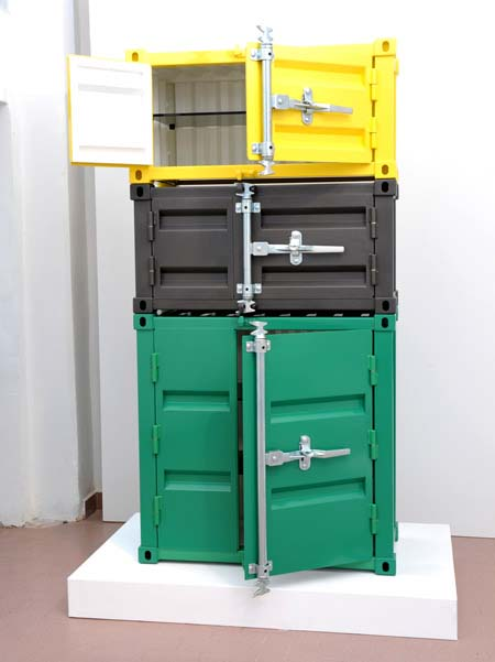 Pandora Storage by Sander Mulder 1 Pandora Storage and Cabinet from Dutch designer Sander Mulder