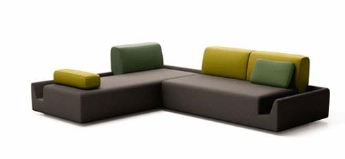 Fossa Sofa from Aurélien Barbry