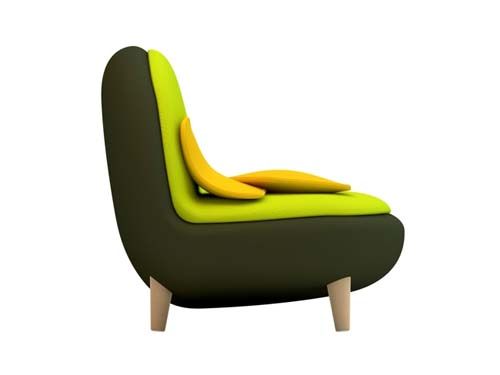Veggie sofa by Christian Vivanco