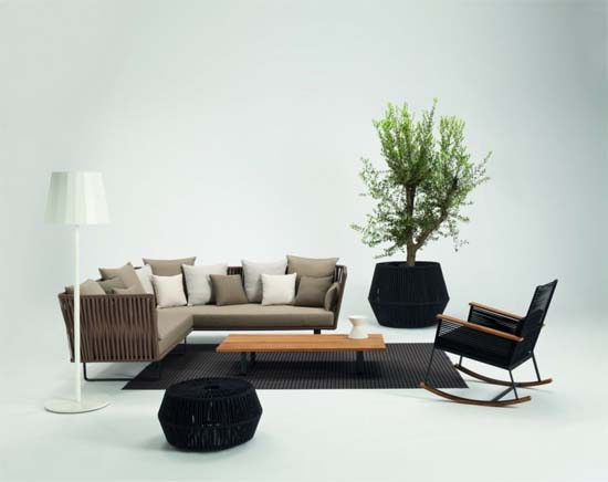 Bitta Collection by Rodolfo Dordoni 1 Bitta Collection to beautify the Interior and Exterior Decor