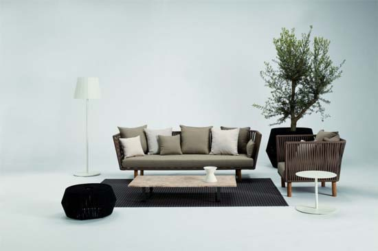 Bitta Collection by Rodolfo Dordoni 2 Bitta Collection to beautify the Interior and Exterior Decor