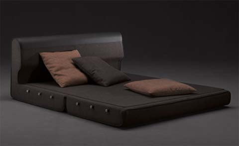 Easy Sleep Sofa by Luca Scacchetti for Domodinamica 1 Sofa which can be transformed into a Bed   Easy Sleep Sofa by Luca Scacchetti for Domodinamica