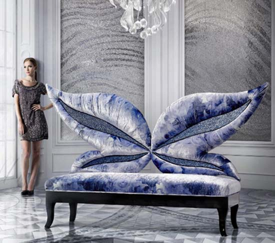 Exotic Chair Designs from Sicis Next Art
