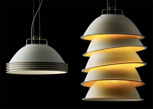 Five Pack Lamp by Alex Scmid