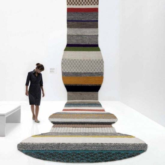 Mangas rugs collection by Patricia Urquiola