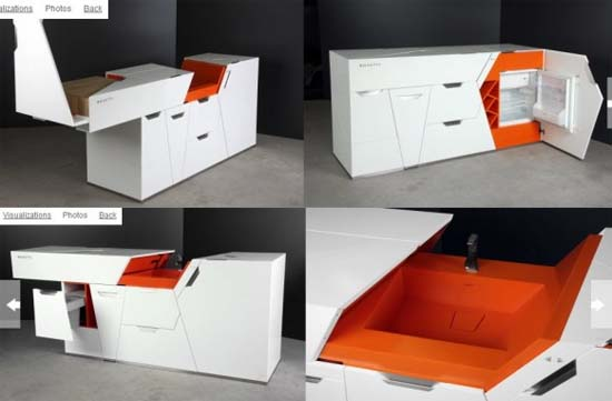 Minimalist furniture designs for Minimalist living without furniture