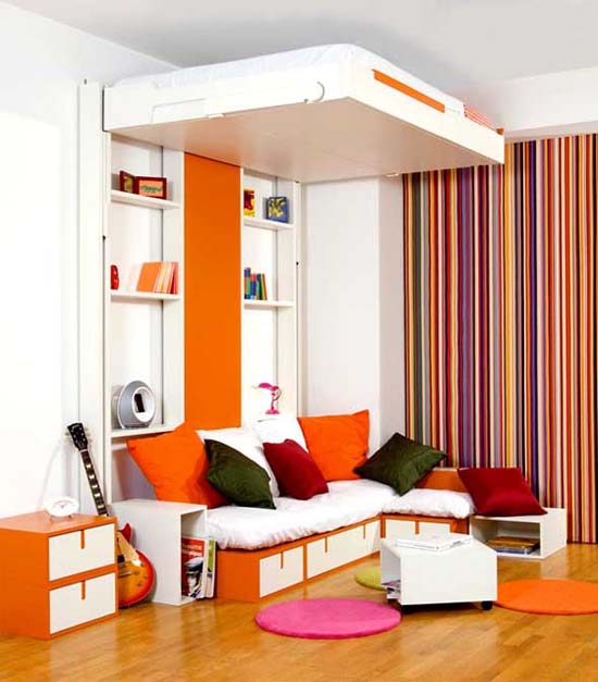 Mobile Bed Wall Bed Design For Small Bedroom Designs