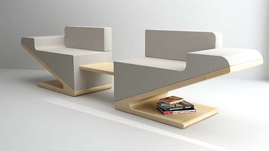 Modern Furniture Trends V two By Korean Studio DesignJoo