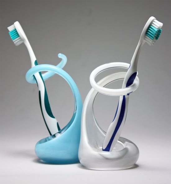 via. Bathroom Toothbrush Holders by Brad Turner