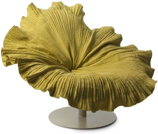 Bloom Lounge Chair Inspired By The Graceful Blossom Of A