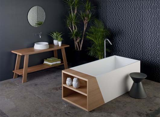 Latis bathroom collection 2 Minimalist Bathroom Decorating Ideas from Omvivo