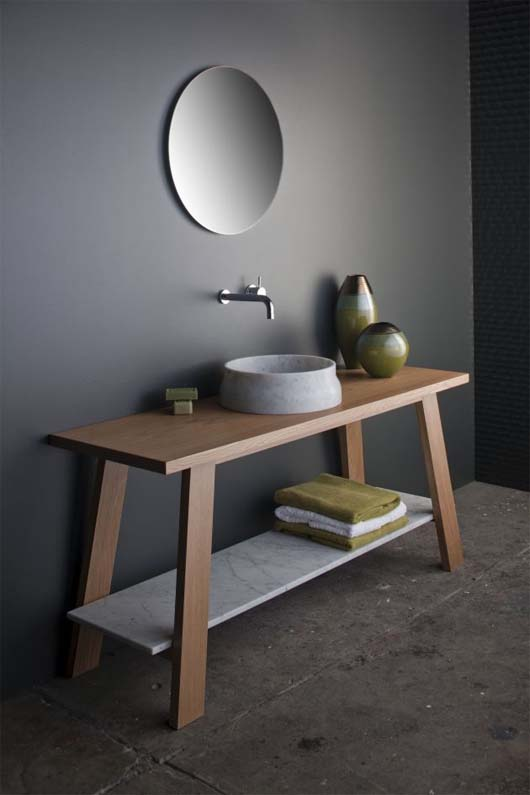 Latis bathroom collection 3 Minimalist Bathroom Decorating Ideas from Omvivo