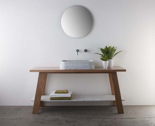 Latis bathroom collection 4 Minimalist Bathroom Decorating Ideas from Omvivo