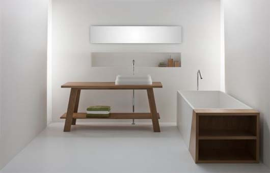 Latis bathroom collection 5 Minimalist Bathroom Decorating Ideas from Omvivo