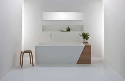 Latis bathroom collection 6 Minimalist Bathroom Decorating Ideas from Omvivo