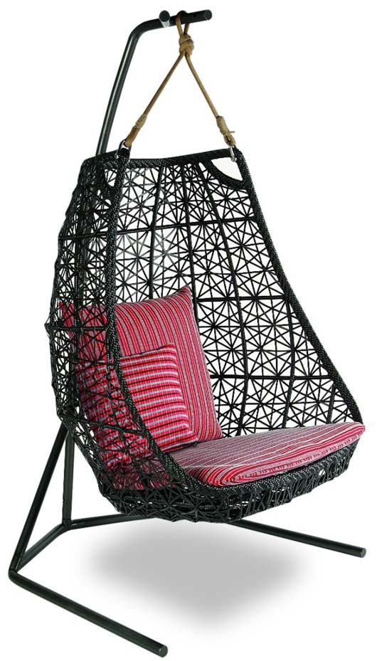 exotic swing chair for outdoor furniture collection by patricia