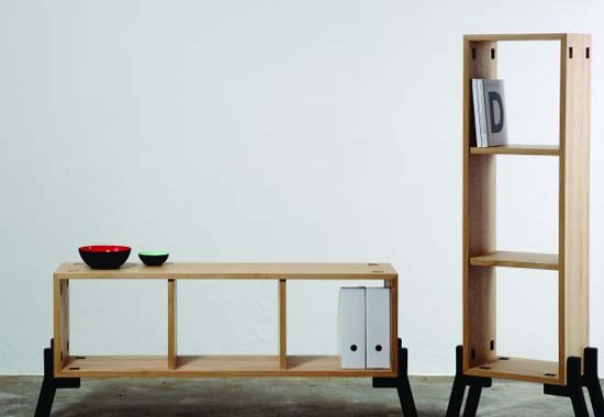 sideboard and bookcase by Reinhard Dienes 1 Tonic by Reinhard Dienes   Sideboard that can serve as Bookcase