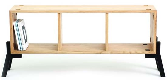 sideboard and bookcase by Reinhard Dienes 4 Tonic by Reinhard Dienes   Sideboard that can serve as Bookcase
