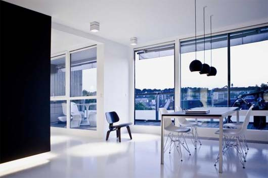 Copenhagen Penthouse II by NORM Architects 1 Penthouse renovation to get plenty of light   Copenhagen Penthouse II