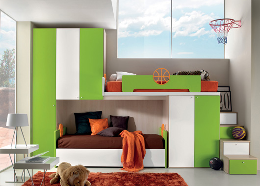 Basket Ball children's bedrooms