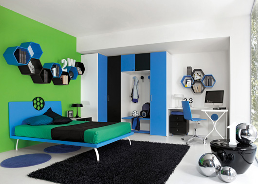 Soccer children's bedrooms