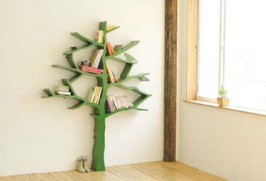 Tree Bookshelf Beautify your wall decor with Tree Branch Bookshelf from Olivier Dolle