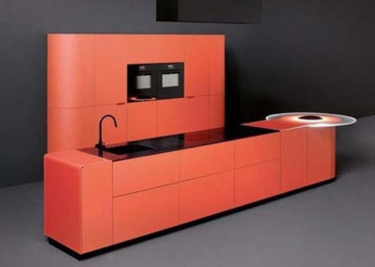 Argento Vivo kitchen from Ged Cucine 1 Fresh kitchen colors ideas from Ged Cucine