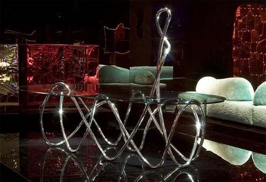 Capriccio table by Jacopo Foggini 1 Italian glass tabletop by Jacopo Foggini for Edra   Capriccio