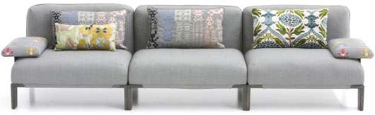 Fergana Sofa with Big sofa cushions 1 Fergana sofa with large sofa cushions