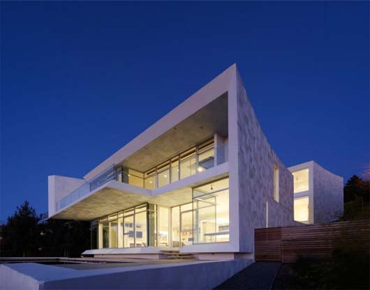 Homes In Hills Of Oakland California By Kanner Architects - Modern-okitu-house-by-pete-bossley