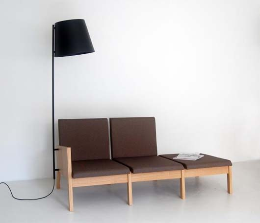 Modular seating furniture by Marina Bautier 2 Modular seating furniture by Marina Bautier