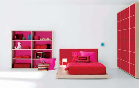 Spanish kids bedroom for small space ideas by Carlos Tiscar 1 Spanish kids bedroom for small space ideas by Carlos Tiscar